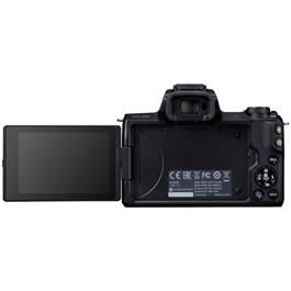 Canon EOS M50 Mirrorless Camera With EF-M 15-45mm IS STM Lens - Black Thumbnail Image 15